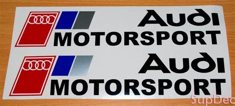 Audi Sport Logo Aufkleber by Supdec Audi Decals Stickers
