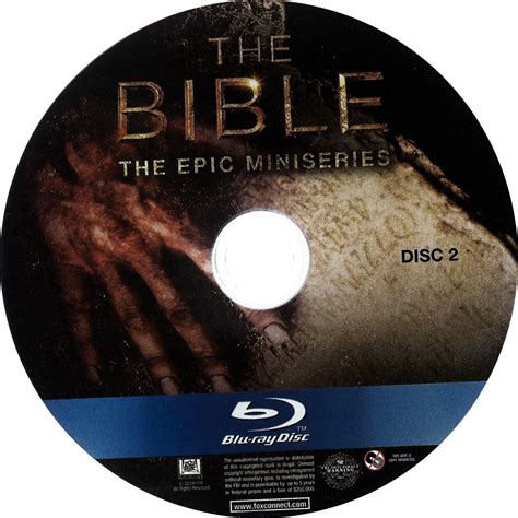 The Bible The Epic Miniseries Bluray the bible the epic miniseries disc 2 scanned dvd labels the bible the epic miniseries disc 2