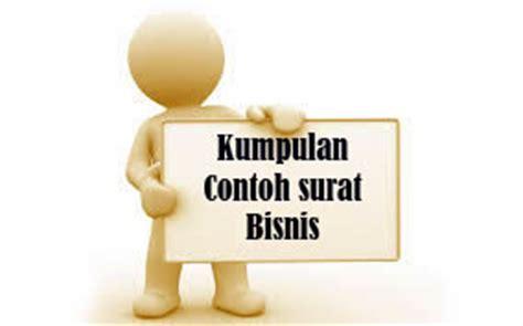 kumpulan contoh surat bisnis dalam bahasa indonesia dan