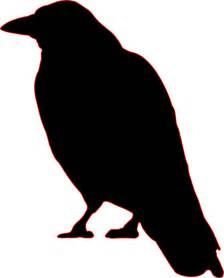 simple raven outline images amp pictures becuo