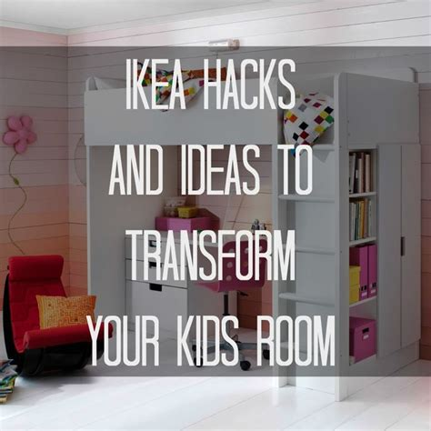 ikea hacks bedroom ikea hacks and ideas to transform your kids room ikea