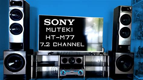 sony muteki ht m77 7 2 channel sound test
