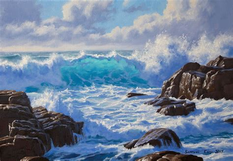 bob ross painting manning sea scape paintings best painting 2018