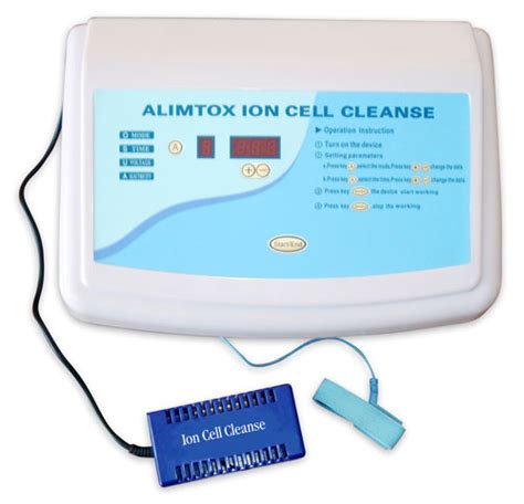 Ion Cleanse Foot Detox Side Effects by Alimtox Cell Cleanse Ion Foot Bath