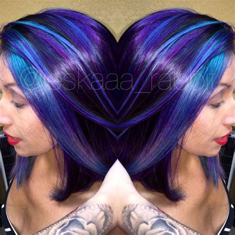 bright colored hair purple joico hair colorful color hair color bright hair