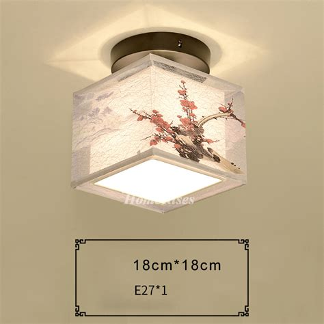 bedroom ceiling light fixtures squareround fabric wrought