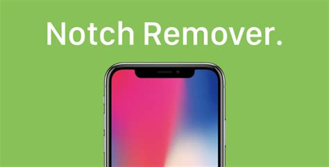 notch remover app for iphone x from app store