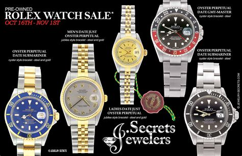 rolex ads 2015 rolex pre owned sle advertisement jewelry secrets