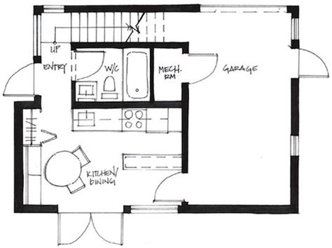Small House Plans 500 Sq Ft 500 Square Foot Small House
