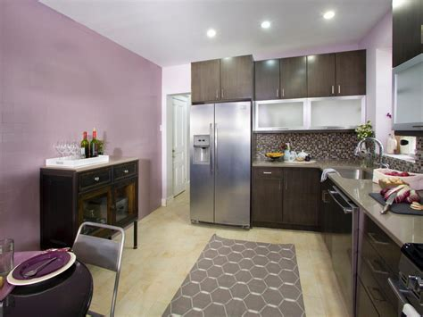 kitchen walls purple kitchen photos hgtv