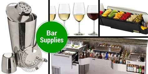 Bar Supplies Bar Equipment Supplies General Hotel Restaurant Supply