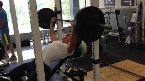 255 bench press incline bench press 255 lbs for 6 reps youtube
