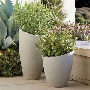 Crate And Barrel Planters by Slant Planters Crate And Barrel