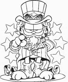 garfield coloring pages free printable garfield coloring pages for