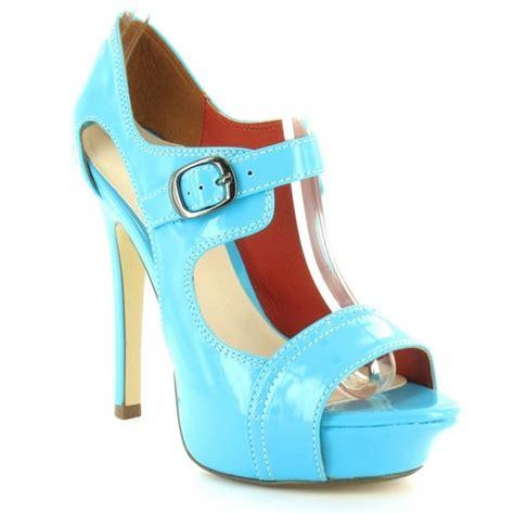 timeless desire womens patent high stiletto heel peep toe