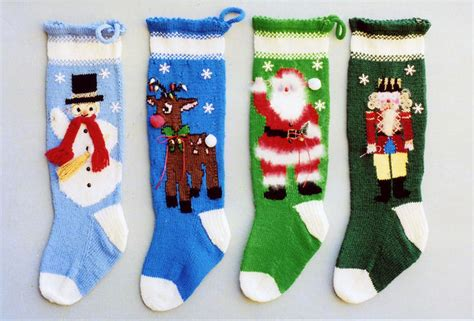 free knitting pattern for large christmas stocking patterns for knitted christmas stockings 171 free patterns