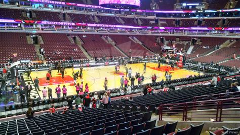 section 101 united center chicago bulls united center section 113 rateyourseats com