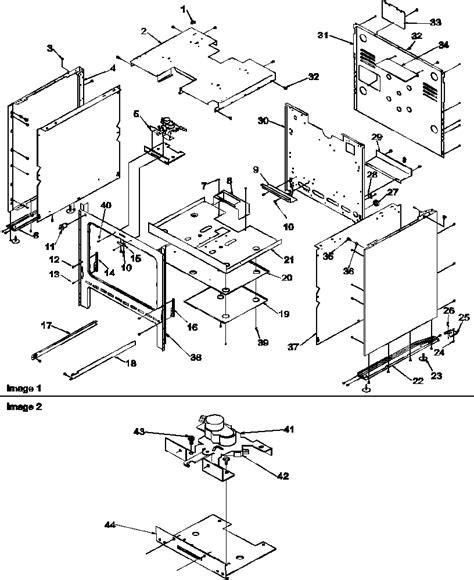 Cupboard Parts - amana arg7800ll gas range timer stove clocks and