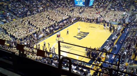pitt student section pitt s oakland zoo youtube