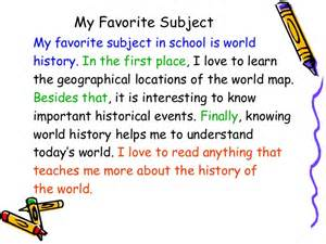 My Favourite Place Essay 9 18 12 writer s workshop the paragraph intro