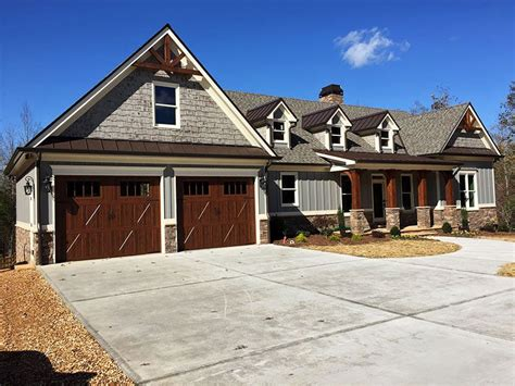 Craftsman Home Plans With Walkout Basement by 4 Bedroom Floor Plan Walkout Basement Craftsman Style