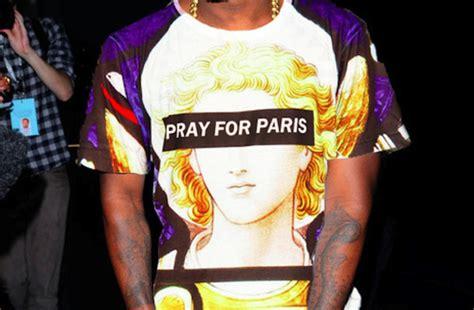 cara edit foto pray for paris t shirt pray for paris shirt swag love kanye west