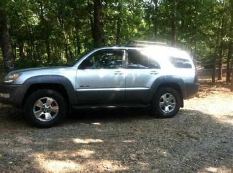 2003 Toyota 4runner Mpg Purchase Used 2003 Toyota 4runner 4x4 V8 Immaculate And