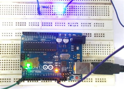 led lights arduino led blinking with arduino uno circuit and code