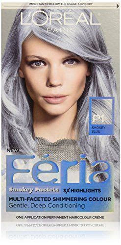 loreal feria gray dyes hair color and pastel on pinterest