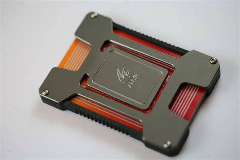 matrix credit card matrix card holder gearmoose