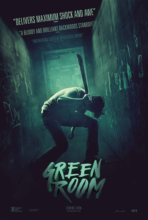 green room red band trailer  poster  comingsoonnet