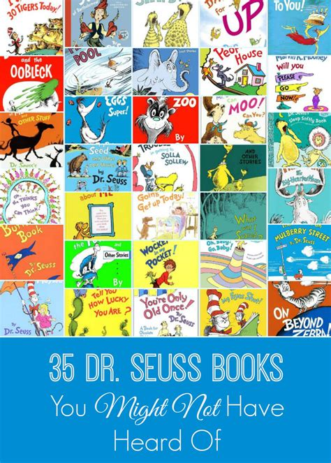 who you books 35 dr seuss books you might not heard of the