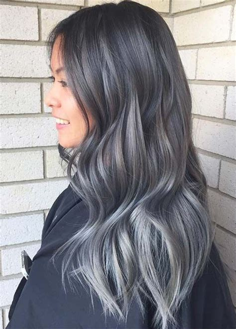silver starlets dark brown hairs 75 ombre hair color for grey silver quoteslodge is all