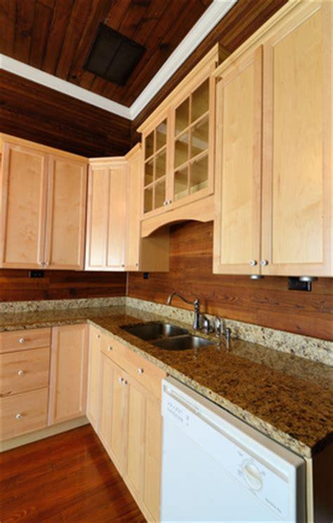 Wood Backsplash Kitchen Wooden Backsplash Home Design