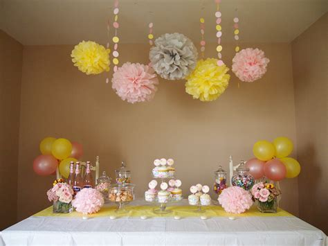 Handmade Birthday Decorations - pink lemonade diy decoration package baby by
