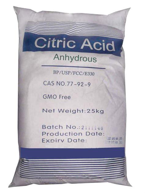 acido citrico alimentare acido citrico anidro 25 kg quilo produto para alimentos