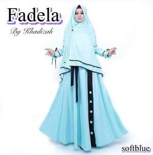 Pakaian Gamis Muslimah Model Baju Gamis Syari Pakaian Muslimah Wanita Modern