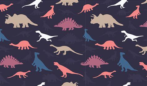 dinosaur pattern wall mural patterned wallpapers custom