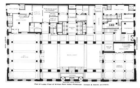 floor plan hotel description william penn hotel lobby floor plan jpg images frompo