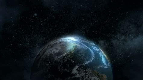 Lights America by 4k Earth In Space Over North America Motion Background