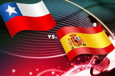 Calendario Futbol España Trasmision En Vivo Espaa Vs Chile Brasil 2014 Apuntes De