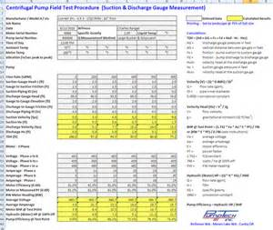 end to end testing template testing centrifugal pumps in the field pumps systems