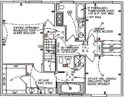Home House Electrical Circuit Symbols And Design Layout Schematic Diagrams