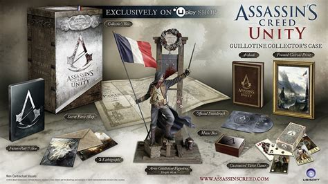 Special Edition Ac Genggam Karakter assassin s creed unity special collector s editions assassinscreed de offizielle de