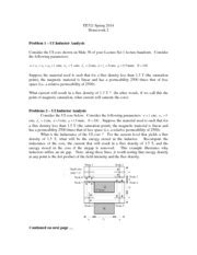 ui inductor hw2 ee321 2015 homework 2 problems 1 ui inductor analysis consider the ui below