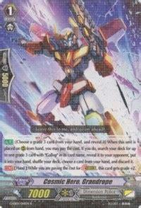 Cardfight Vanguard Booster Pack Geb01 Cosmic Roar cosmic grandrope g eb01 cosmic roar cardfight