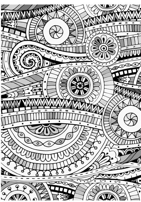 mind massage colouring book  adults mosaic drawing