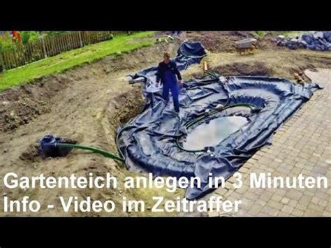 Wie Baue Ich Einen Gartenteich 2246 by Gartenteich Anlegen In 3 Minuten Gartenteich Mit