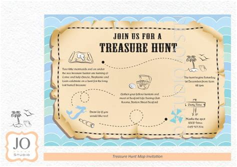 scavenger hunt map template 6 treasure map templates free excel pdf documents