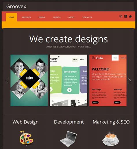 social media templates design 38 social media website themes templates free